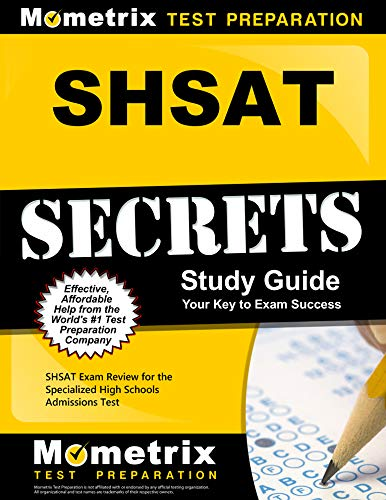 9781610728720: SHSAT Secrets Study Guide: SHSAT Exam Review for the Specialized High Schools Admissions Test