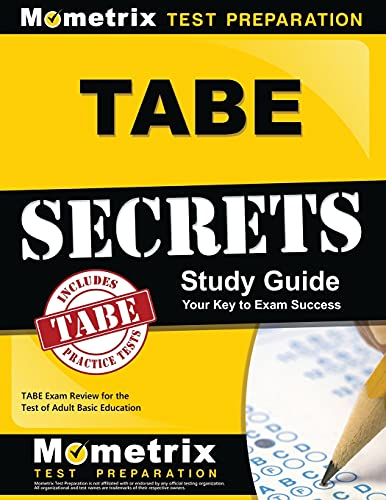 9781610728850: TABE Secrets Study Guide: TABE Exam Review for the Test of Adult Basic Education