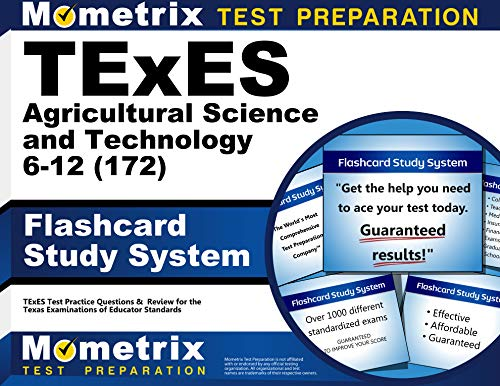 9781610728935: TExES Agricultural Science and Technology 6-12 (172) Flashcard Study System: TExES Test Practice Questions & Review for the Texas Examinations of Educator Standards (Cards)