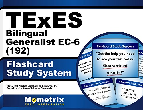 9781610729024: TExES Bilingual Generalist EC-6 (192) Flashcard Study System: TExES Test Practice Questions & Review for the Texas Examinations of Educator Standards (Cards)