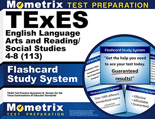 9781610729147: TExES English Language Arts and Reading/Social Studies 4-8 (113) Flashcard Study System: TExES Test Practice Questions & Review for the Texas Examinations of Educator Standards (Cards)