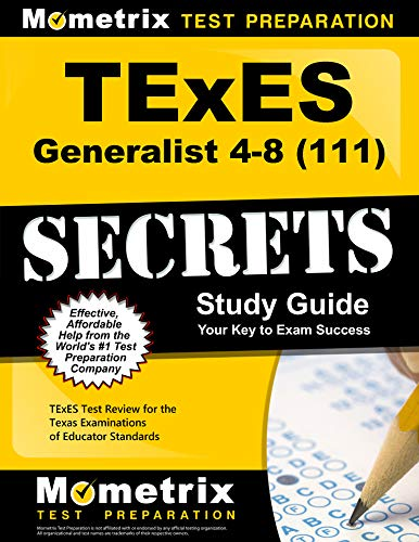 9781610729215: TExES Generalist 4-8 (111) Secrets Study Guide: TExES Test Review for the Texas Examinations of Educator Standards