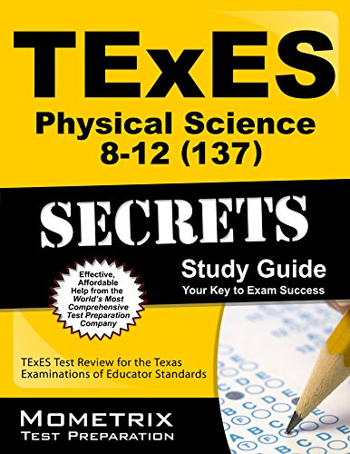 9781610729635: TExES Physical Science 8-12 (137) Secrets Study Guide: TExES Test Review for the Texas Examinations of Educator Standards (Mometrix Secrets Study Guides)