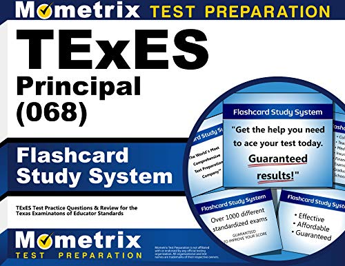 9781610729666: TExES Principal (068) Flashcard Study System: TExES Test Practice Questions & Review for the Texas Examinations of Educator Standards (Cards)