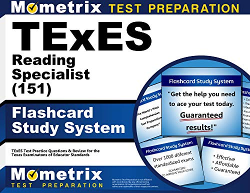 9781610729680: TExES Reading Specialist (151) Flashcard Study System: TExES Test Practice Questions & Review for the Texas Examinations of Educator Standards (Cards)