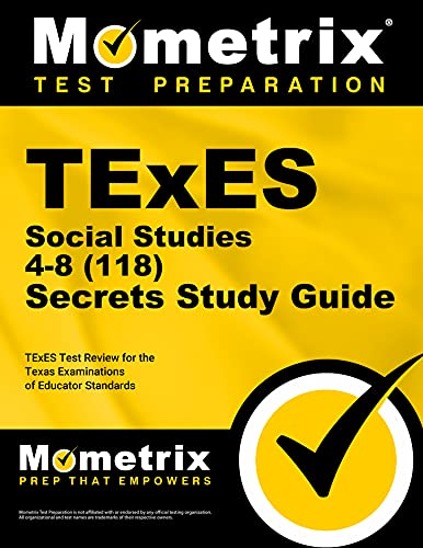 9781610729758: TExES Social Studies 4-8 (118) Secrets Study Guide: TExES Test Review for the Texas Examinations of Educator Standards