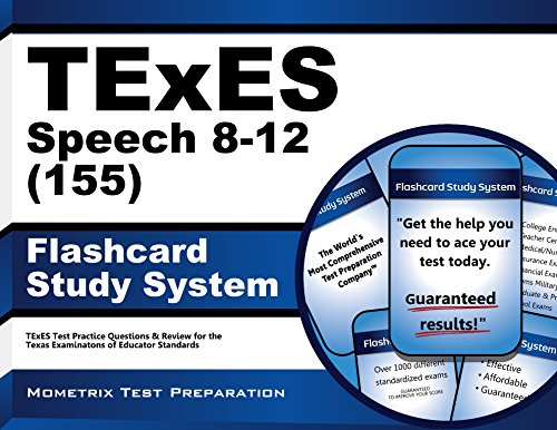 9781610729802: TExES Speech 8-12 (155) Flashcard Study System: TExES Test Practice Questions & Review for the Texas Examinations of Educator Standards (Cards)
