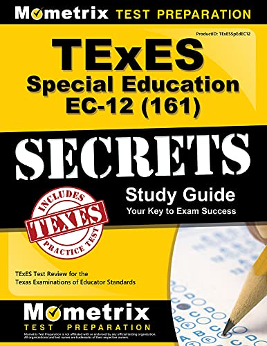 9781610729819: TExES Special Education EC-12 (161) Secrets Study Guide: TExES Test Review for the Texas Examinations of Educator Standards
