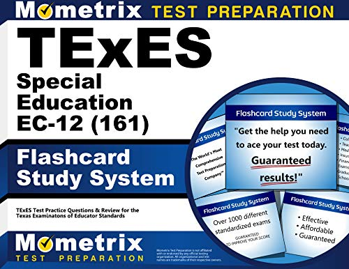 9781610729826: TExES Special Education EC-12 (161) Flashcard Study System: TExES Test Practice Questions & Review for the Texas Examinations of Educator Standards (Cards)