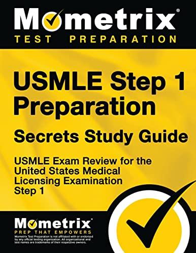 9781610730006: USMLE Step 1 Preparation Secrets Study Guide: USMLE Exam Review for the United States Medical Licensing Examination Step 1