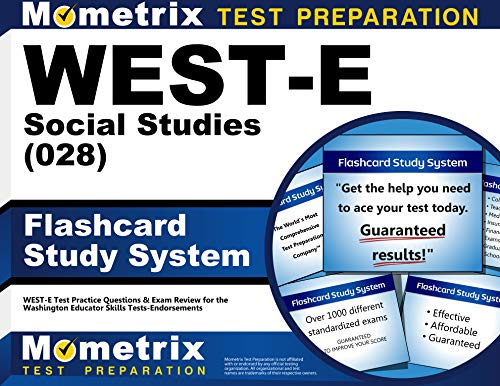 9781610730570: WEST-E Social Studies (028) Flashcard Study System: WEST-E Test Practice Questions & Exam Review for the Washington Educator Skills Tests-Endorsements (Cards)