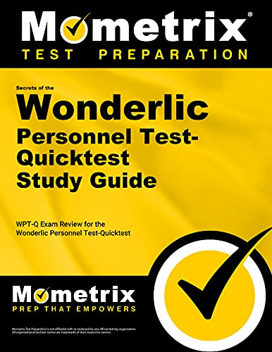 9781610730693: Secrets of the Wonderlic Personnel Test-Quicktest Study Guide: WPT-Q Exam Review for the Wonderlic Personnel Test-Quicktest