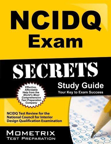 9781610730822: NCIDQ Exam Secrets Study Guide: NCIDQ Test Review for the National Council for Interior Design Qualification Examination