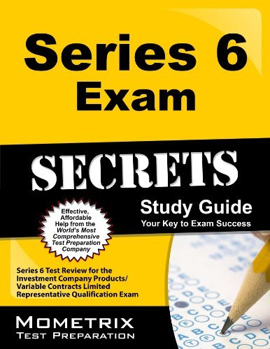 9781610733908: Series 6 Exam Secrets Study Guide: Series 6 Test Review for the Investment Company Products/Variable Contracts Limited Representative Qualification Exam