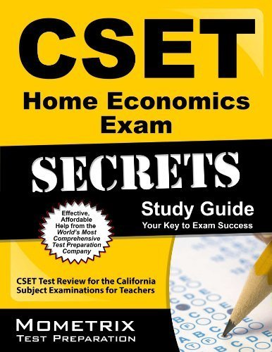 9781610734837: CSET Home Economics Exam Secrets Study Guide: CSET Test Review for the California Subject Examinations for Teachers