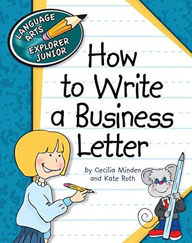 9781610806671: How to Write a Business Letter (Language Arts Explorer Junior)