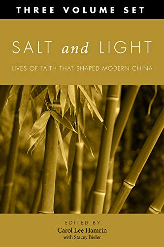 9781610976909: Salt and Light, Three Volume Set: More Lives of Faith That Shaped Modern China (Studies in Chinese Christianity (Paperback))