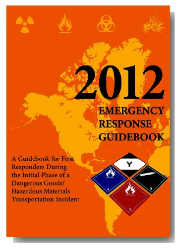 9781610991193: 2012 Emergency Response Guidebook (ERG): Pocket Edition