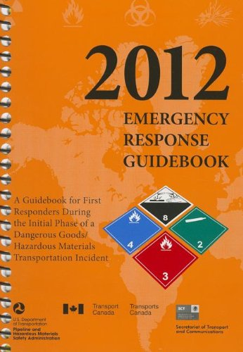 9781610991216: 2012 Emergency Response Guidebook (ERG): Spiralbound Edition