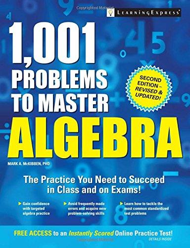 9781611030273: 1,001 Problems to Master Algebra