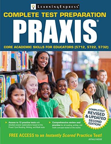 9781611030600: Praxis: Core Academic Skills for Educators (5712, 5722, 5732)