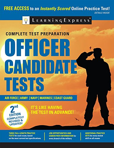 9781611030839: Officer Candidate Tests