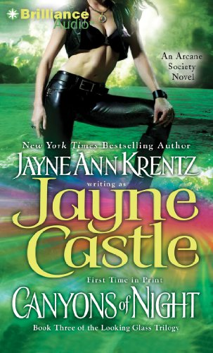 9781611060089: Canyons of Night (Arcane Society: The Looking Glass Trilogy)