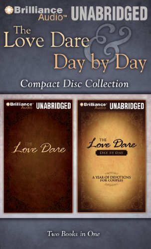 9781611060102: The Love Dare & Day by Day MP3 Collection: The Love Dare, The Love Dare Day by Day