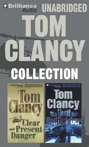 Tom Clancy Collection (Limited Edition): Clear and Present Danger, The Hunt for Red October: Clancy...