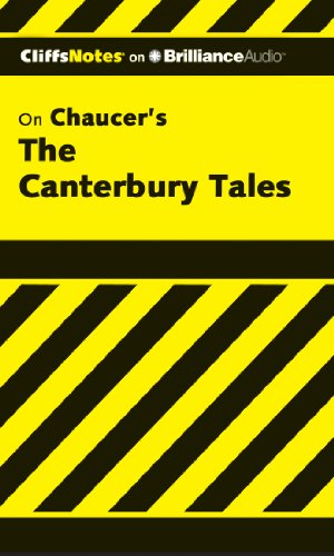 9781611067293: The Canterbury Tales (Cliffs Notes Series)