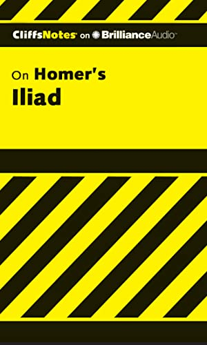 9781611067842: Iliad (Cliffs Notes Series)