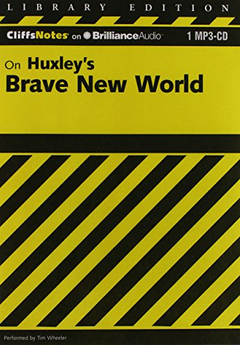 9781611068016: Brave New World (Cliffs Notes Series)