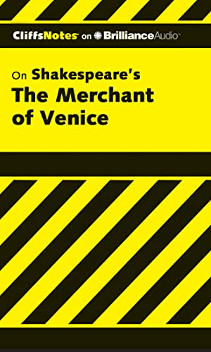9781611068948: The Merchant of Venice (Cliffs Notes Series)