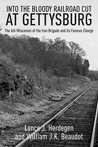 9781611212921: In the Bloody Railroad Cut at Gettysburg: The 6th Wisconsin of the Iron Brigade and its Famous Charge
