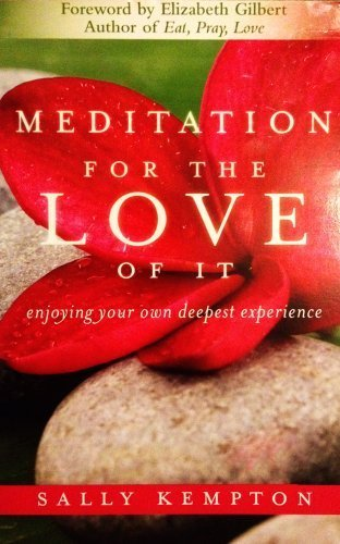 9781611293197: Meditation for the Love of It