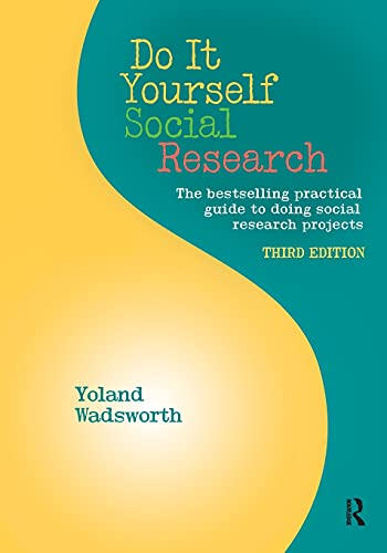 9781611321074: Do It Yourself Social Research, Third Edition