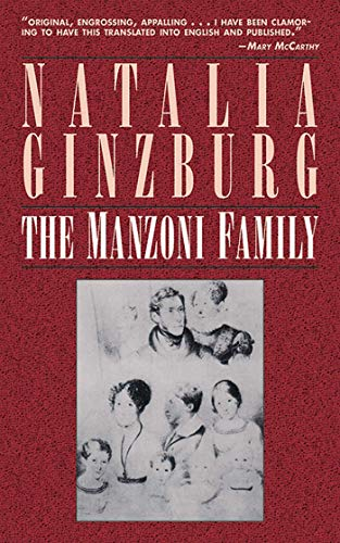 9781611457179: The Manzoni Family: A Novel