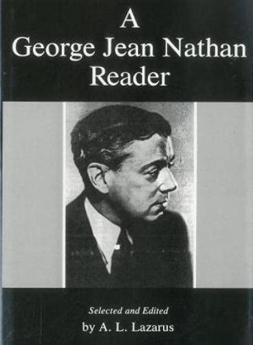 9781611470901: A George Jean Nathan Reader