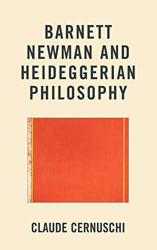 9781611475197: Barnett Newman and Heideggerian Philosophy