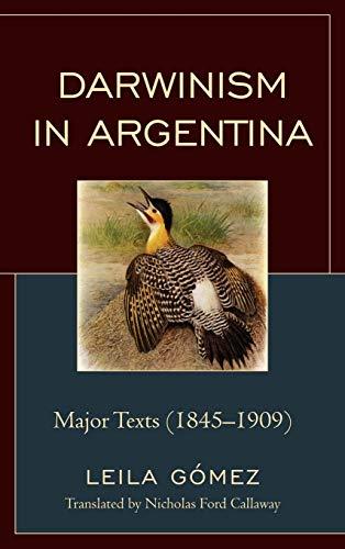 9781611483864: Darwinism in Argentina: Major Texts (1845-1909)