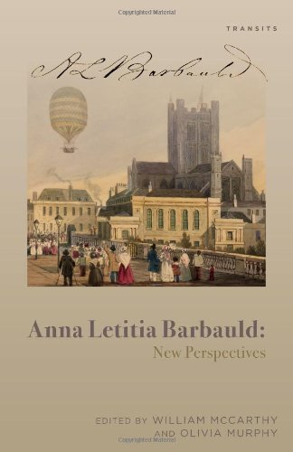 9781611485493: Anna Letitia Barbauld: New Perspectives (Transits: Literature, Thought & Culture, 1650–1850)