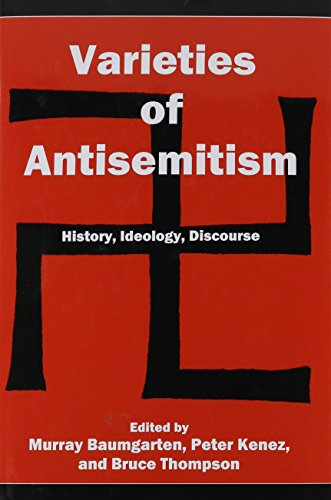 Varieties of Antisemitism: History, Ideology, Discourse (Hardback)