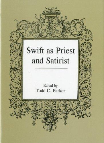 Swift as Priest and Satirist (Hardback)
