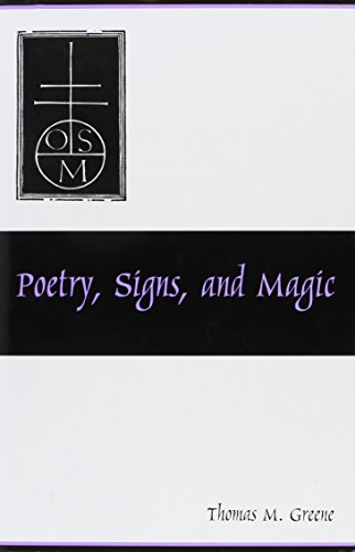 9781611492606: Poetry, Signs, and Magic