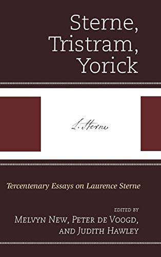 Sterne, Tristram, Yorick: Tercentenary Essays on Laurence Sterne