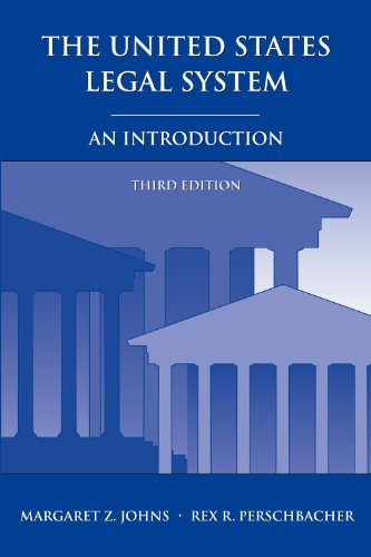 9781611630107: The United States Legal System: An Introduction