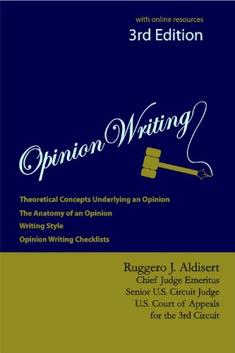 9781611631234: Opinion Writing 3rd Edition