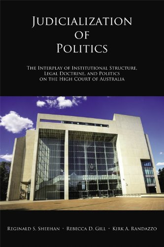 Judicialization of Politics The Interplay of Institutional Structure, Legal Doctrine, and Politics ...