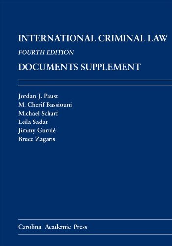 9781611633658: International Criminal Law Documents Supplement: Fourth Edition