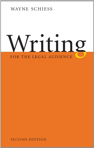 9781611633917: Writing for the Legal Audience, Second Edition